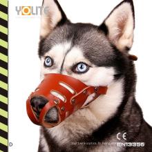 Produits réfléchissants de sécurité d'animaux de compagnie, masque d'animaux de compagnie, bouche d'animaux familiers, cas de couverture de bouche de chien