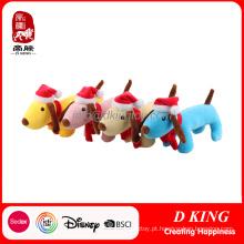 Natal crianças presentes macio pelúcia brinquedo cão