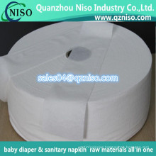2016 Newest Airlaid Paper Raw Material for Sanitary Napkin and Baby Diaper