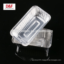 Competitive price disposable aluminium foil container for food