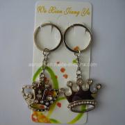 Rhinestone Crown Key Chain (ASNY-crown key chain-IX-005)