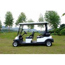 Carrinhos de golfe com bateria de 4 lugares