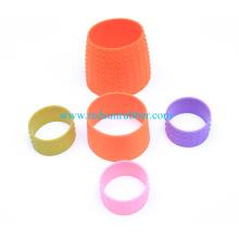 Manga de goma moldeada resistente del silicón del cilindro