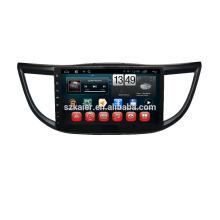 Kaier фабрики ,четырехъядерный .полный сенсорный экран андроид 4.4 автомобильный DVD для Honda СRV 2013 +ОЕМ+1024*600+mirrior ссылке +ТМЗ