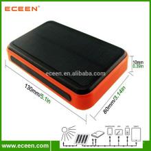 Painel de silício monocristalino de carregamento rápido 10000mah carregadores solares portáteis portáteis portáteis USB