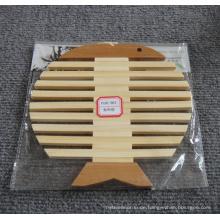 Eco Natürliche Bambusmatte für Geschirr und Schüssel