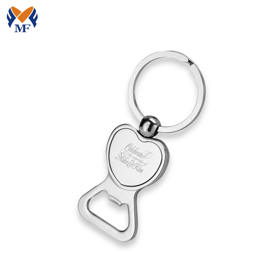 Bottle Opener Keychain Wedding Favor