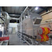 Machine plus sèche de Vibration-Fluidized de Rectilimear de série de Zdg pour le produit chimique