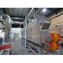 Zdg Series Rectilimear Vibrating-Fluidized Drier Machine for Chemical