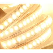 Новая технология 220В супер яркий белый свет/ теплый белый 3038 светодиодные полосы света Открытый IP65 Водонепроницаемый
