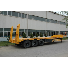 3 axle low loader truck trailer