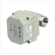 "1/2"", 3/4"", 1"" Inch Electric Motorized Stainless Steel Control Water Valve with Timer"