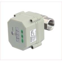 """1/2 """", 3/4"""", 1 """"Inch Electric motorizado de aço inoxidável válvula de água de controle com temporizador"""