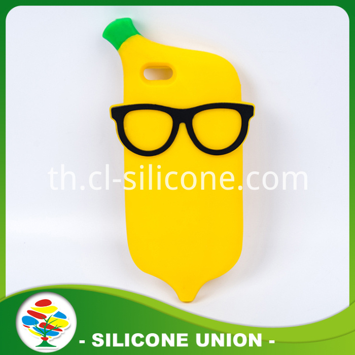 Eco-friendly Banana Silicone Cellphone Case