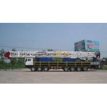 XJ180 type oil workover rig equipment