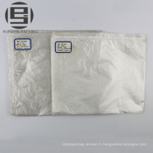 Sacs transparents d'emballage de pe auto-adhésif transparent