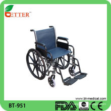 Fauteuil roulant manuel pliant BT951 MADE IN CHINA