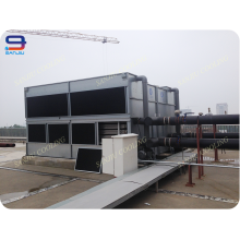 125 Tonnen Superdyma Geschlossener Kreisquerschnitt GHM-125 Nicht FRP Geschlossene Art Jacke Wasserkühlung