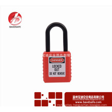WenZhou BAODSAFE Non-Conductive Shackle Safety Padlock BDS-S8611