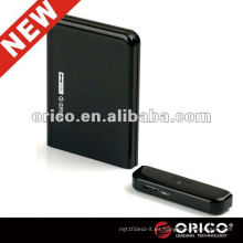 ORICO 2519US3 external 3.5 '' caddy plástico de HDD, interfaz USB3.0 caso de HDD