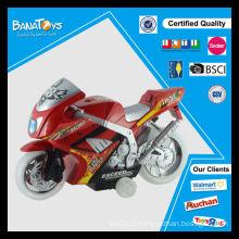 Roda transparente elétrica de brinquedo barata com mini motocicleta transversal leve