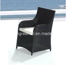 PE Rattan moderno ao ar livre lazer pátio restaurante cadeira