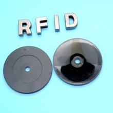 Etiqueta de botão de alta temperatura RFID UHF