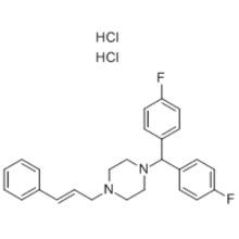Dichlorhydrate de flunarizine CAS 30484-77-6