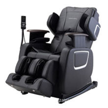 Full Body Massage Chair with Six-roller Massage Machine, Hidden Armrest, Air Pressure on Foot