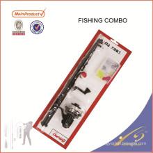 FDSF105D Caneta Vara De Pesca Combo Combinação Kid Combinação Com Rod Carretel Linha Isca