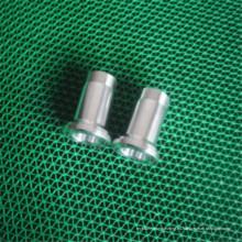 Pieza que trabaja a máquina del torno del CNC de la precisión del aluminio del OEM