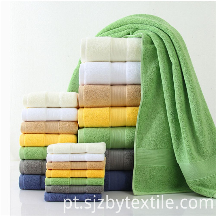 Solid Color Hotel Bath Towels