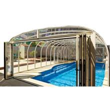 Couverture électrique pour piscine intérieure 6 feuilles Vancouver