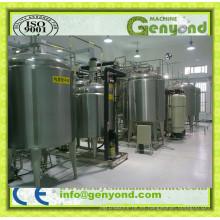Planta automática de procesamiento de leche pequeña
