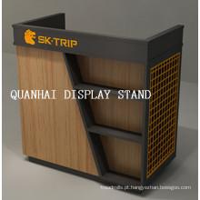 Supermercado Checkout caixa contador tabela Stand Design