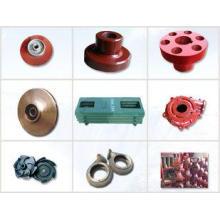 Custom made metal casting water pump repair parts grey iron