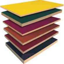 4x8'/6'x8' meranti core melamine paper laminated plywood