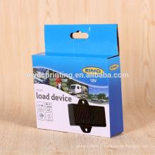 Boîte de papier d'emballage en carton ondulé de produit électronique personnalisé