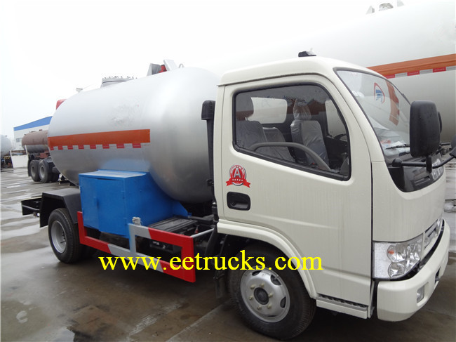 4MT LPG Delivery Trucks