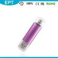 Cheap Colorful Plastic Lipstick Shaped OTG USB Flash Drive (TJ004)