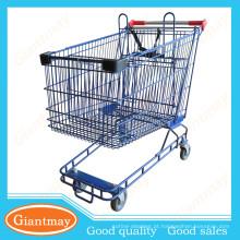 Novo estilo a mano supermercado equipar carrinhos de compras de marketing à venda