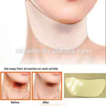 2014 new product anti wrinkle gel neck patch