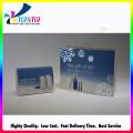 Alta qualidade personalizado impresso caixa de papelão dobrável e luva