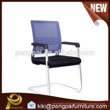Fashion medium back reclining mesh visitor chair without wheels 01