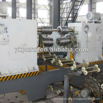 Máquina de corrugación para la línea de producción de barril de acero de velocidad media