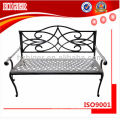 double bench chair,park chair,aluminum die casting