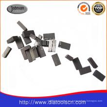 Herramienta de diamante -1400mm segmento de diamante para la hoja de sierra