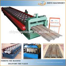 Rolamento de plataforma de metal de construção que dá forma à máquina