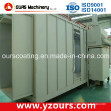 Small Paint Spray Booth for Metal Industry