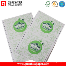 ISO China Manufacture Office OEM Preprinted Computer Paper